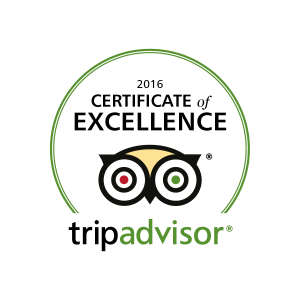 DiFontaine's TripAdvisor Cert of Excellence